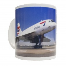 Concorde G-BOAG Mug