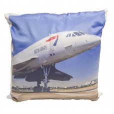 Concorde G-BOAG London To New York 40cmx40cm Cushion
