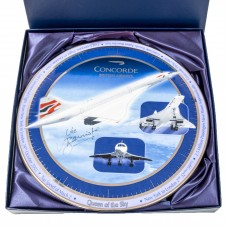 Concorde Commemorate Plate